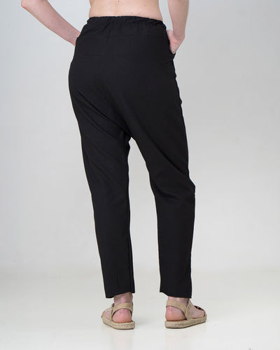 Linen Frasier Harem Pants