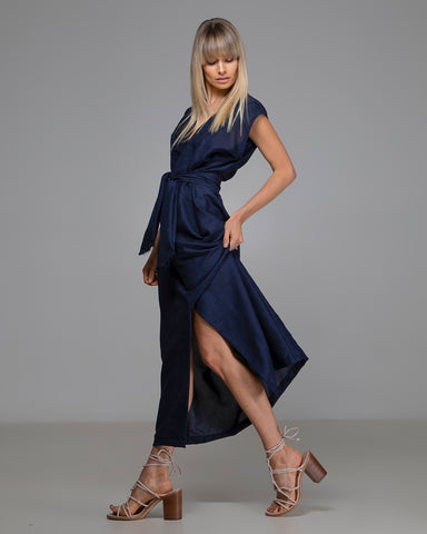The Minerva Wrap Dress