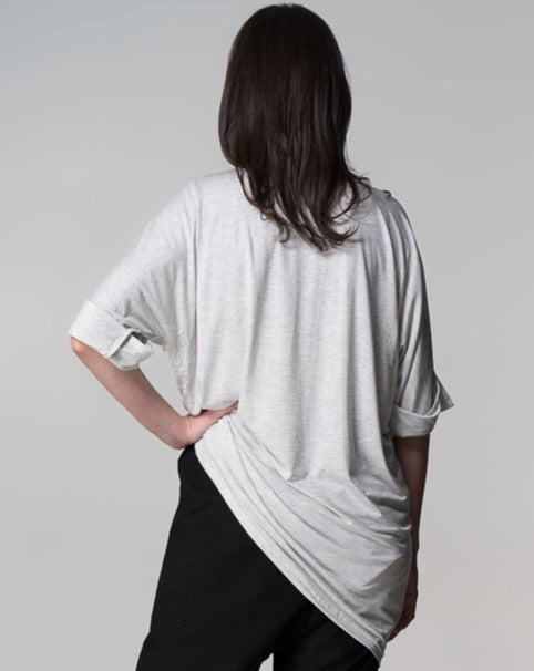 Organic Bamboo MM Top Grey