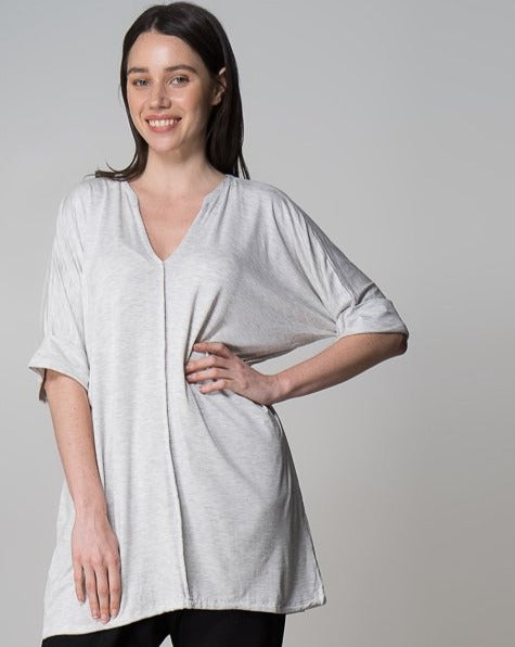 Organic Bamboo MM Top - Grey