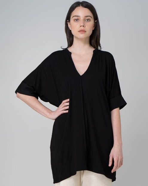 Organic Bamboo MM Top - Black