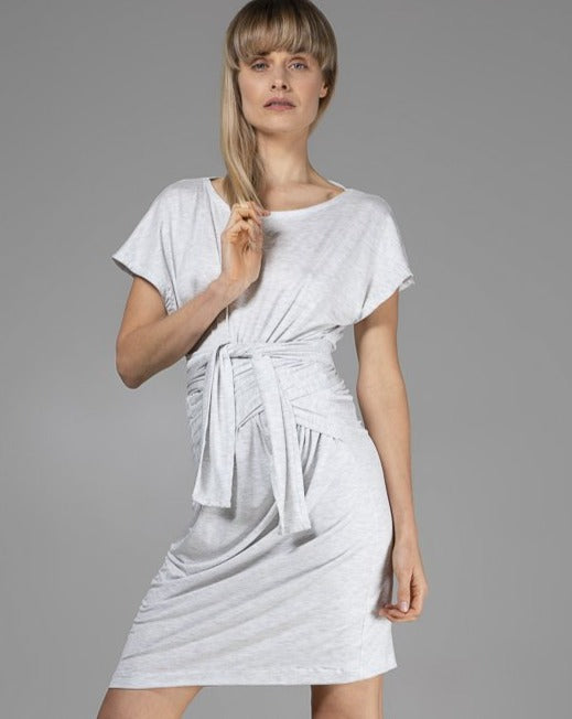Organic Bamboo Maya Dress Grey