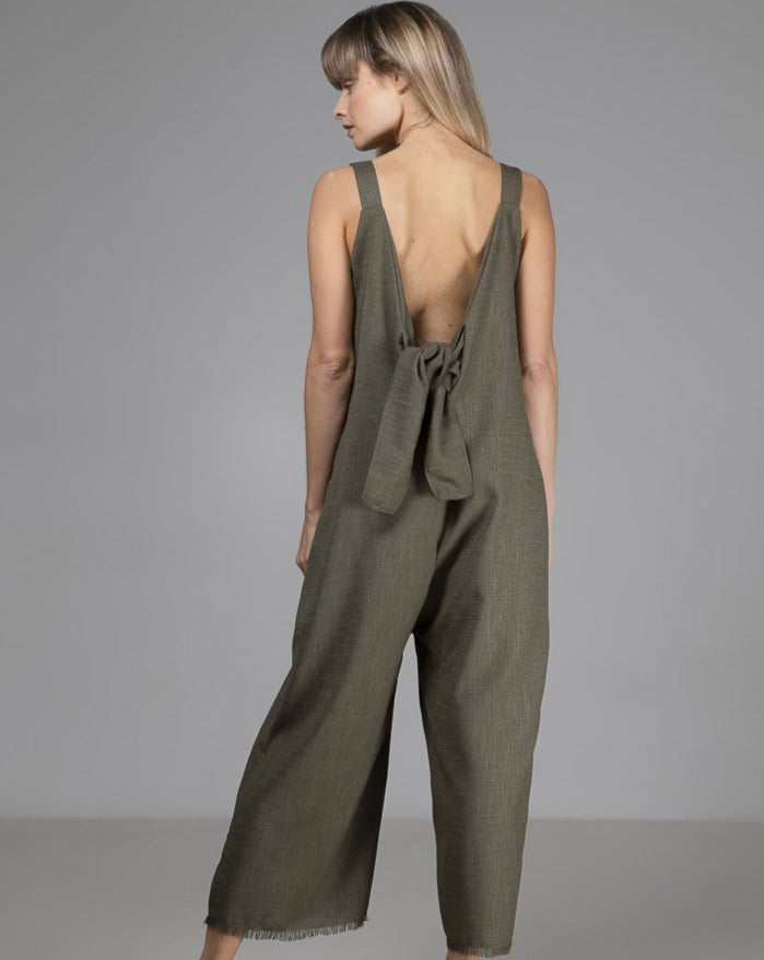 Limited Edition Sadie Jumpsuit Green