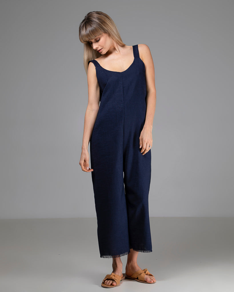 Limited Edition Sadie Jumpsuit Navy
