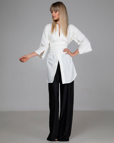 Limited Edition Cauli Oversized White Blouse
