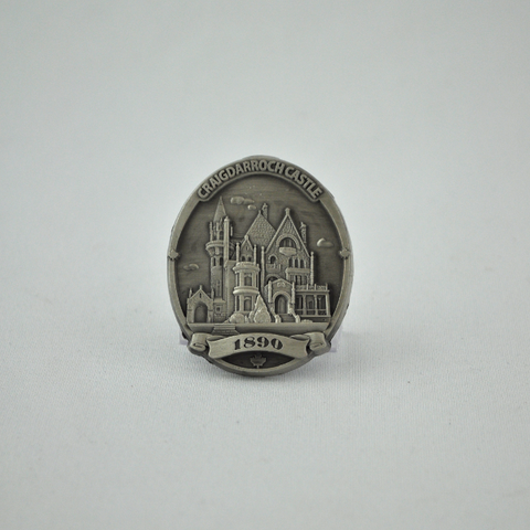 Magnet Castle Pewter