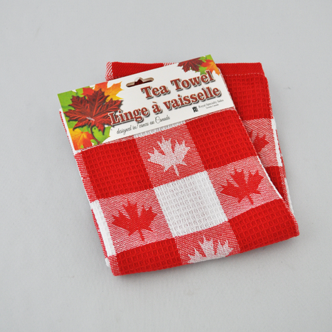 Tea Towel Maple Leaf