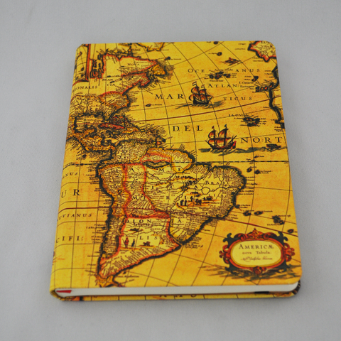 Journal Embossed Cartography