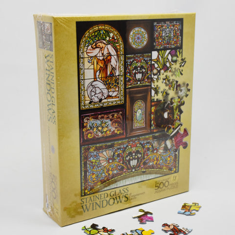 Jigsaw Puzzle - Stained Glass Windows