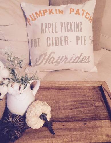 Pumpkin Patch|Pillow Cover
