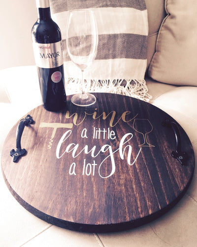 Wine A little|Decorative Tray