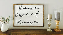 Home Sweet Home | Wood Sign