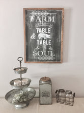 Farm to table | Wood sign