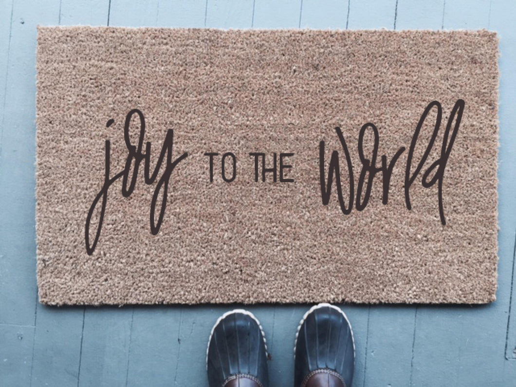 Joy To The World|Doormat