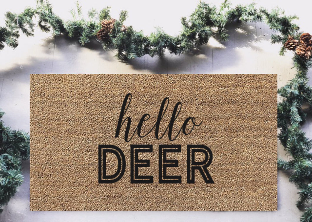 Hello Deer|Doormat