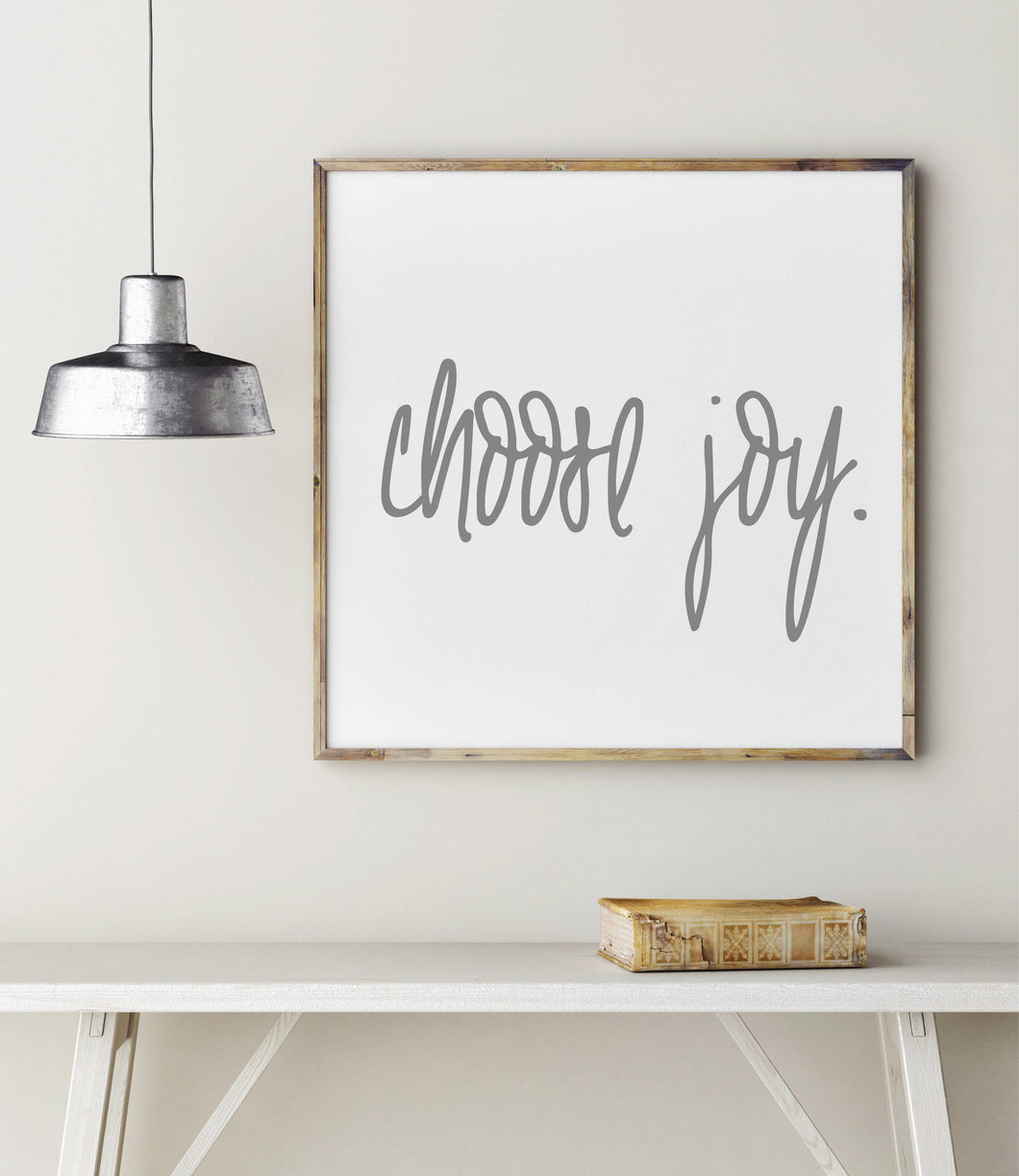 Choose Joy|Wood Sign