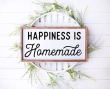 Happiness Is Homemade|Wood Sign