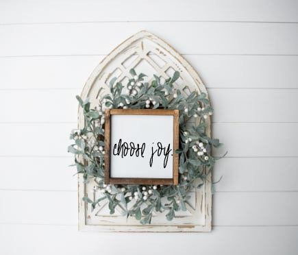 Choose Joy|Small Wood Sign
