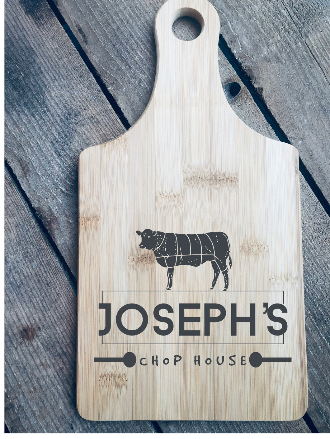 Custom Cutting Board|Chop House