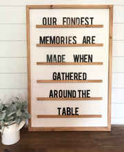 Letter Board Wood Sign Set|3D| Wood|Large