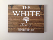 Personalized Barn Door Sign