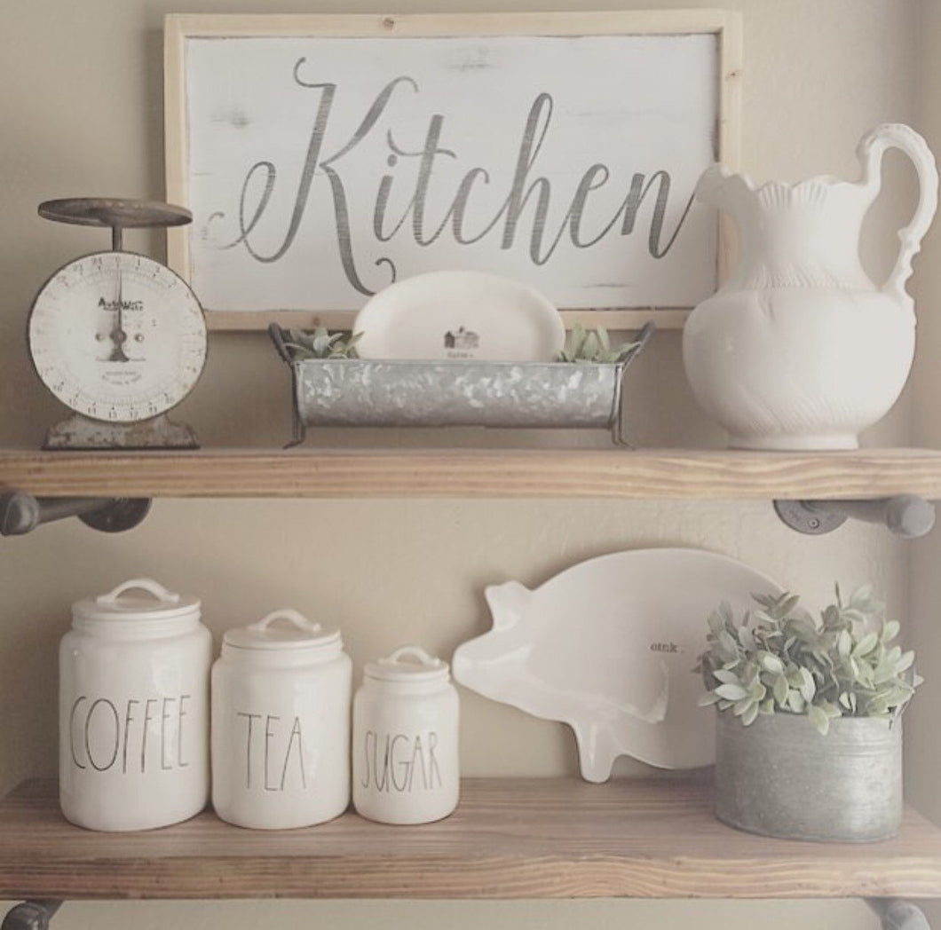 Kitchen|Wood Sign