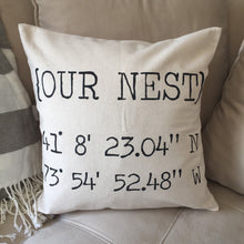 Our Nest|Pillow Cover
