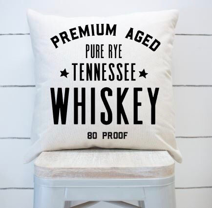 Whiskey|Pillow Cover