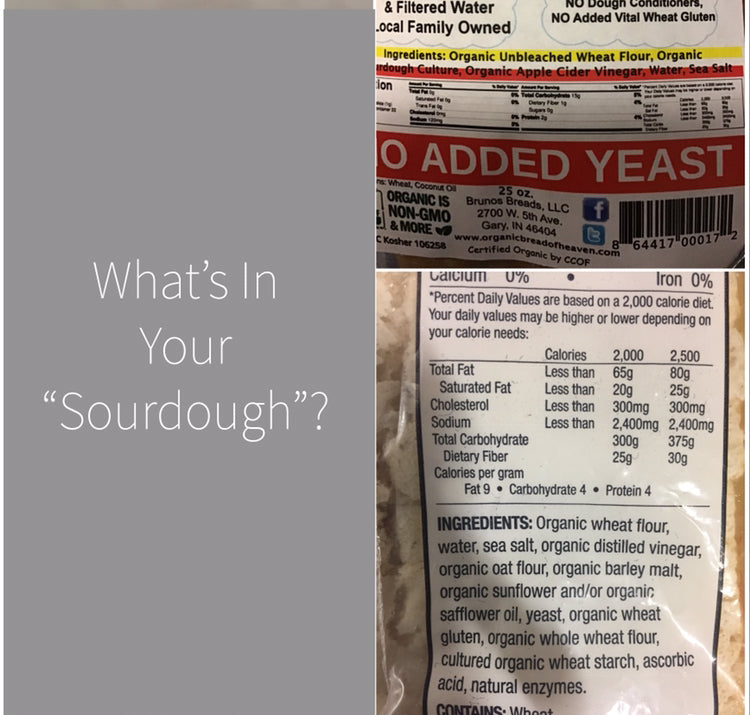 "What's In YOUR ""Sourdough""?"
