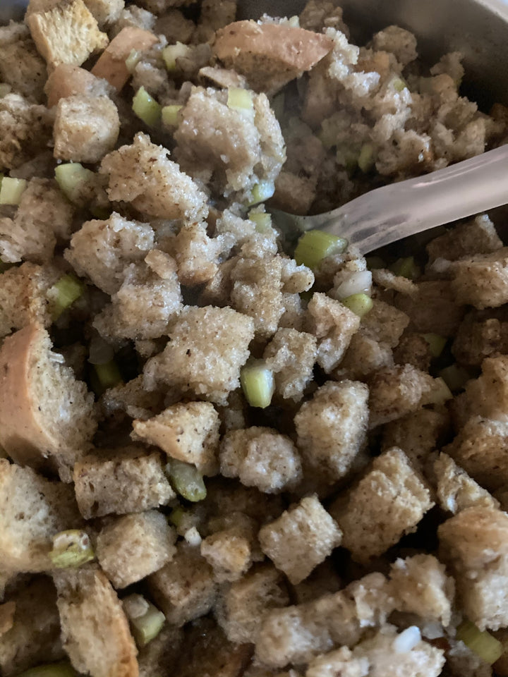 Try Out Our Family's Incredible Bread Stuffing Recipe!!