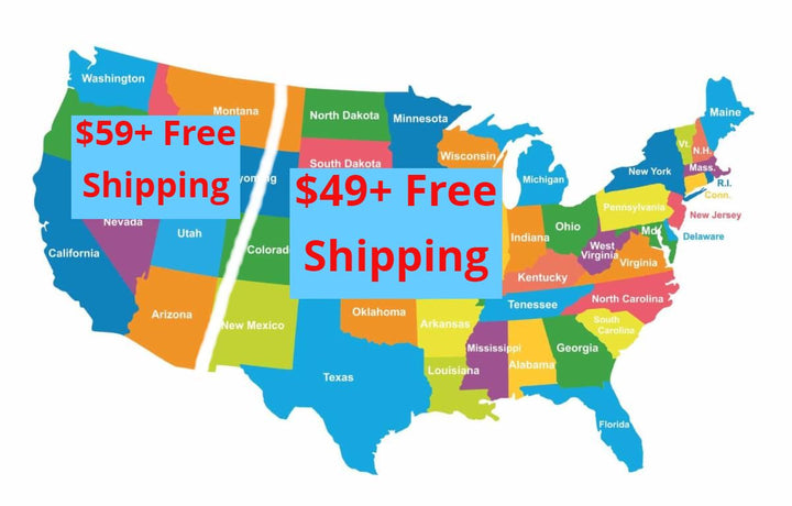 Free Shipping to 48 of the United States - SEE DETAILS