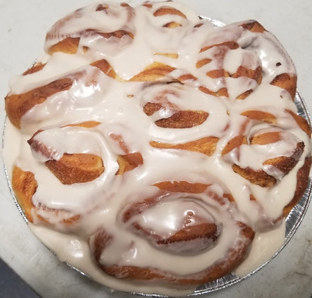 Cinnamon Roll Pan - 9 inch Heart or Circle