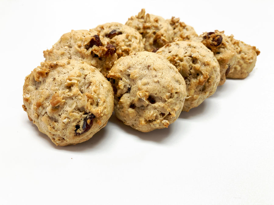 Oatmeal Raisin Cookies - 9 pk - Sweetened With Maple Syrup