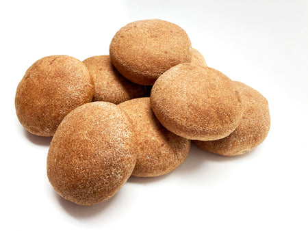 100% Sprouted Sourdough Burger Buns - 8 pk