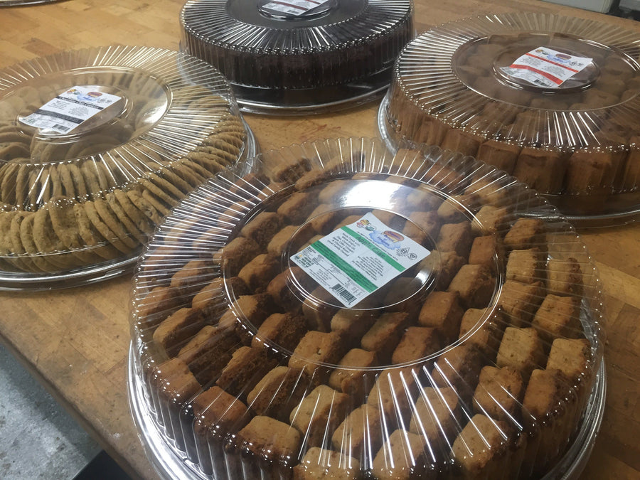 Trays of Variety Cookies or Sweet Breads