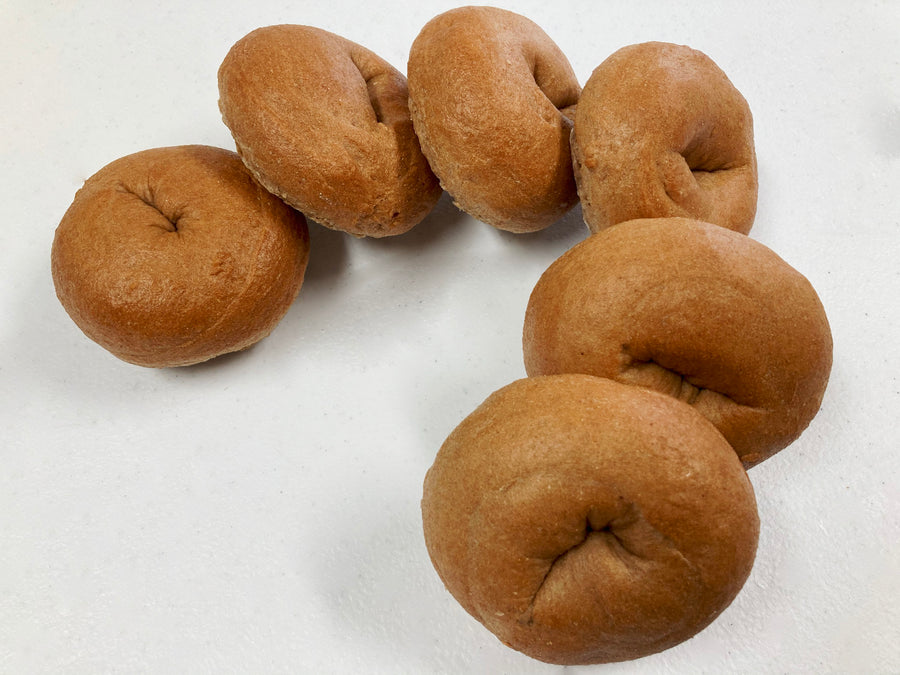 Sprouted Sourdough Bagels - 6 pk