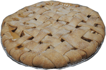No Sugar Added - Apple Pie - 9 inch in diameter