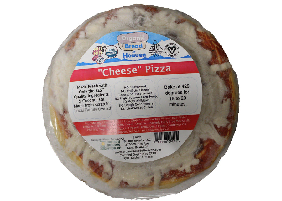 THREE Personal Cheese Pizza