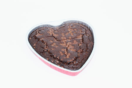 9 Inch Heart Cake - Chocolate