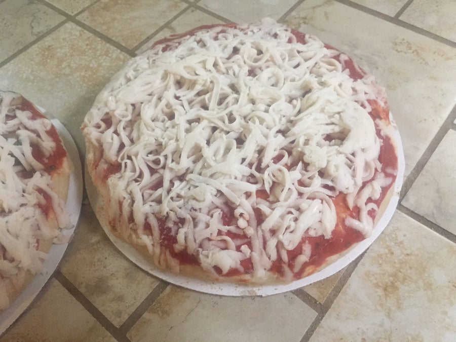 Two 9 inch Sourdough Cheese Pizzas