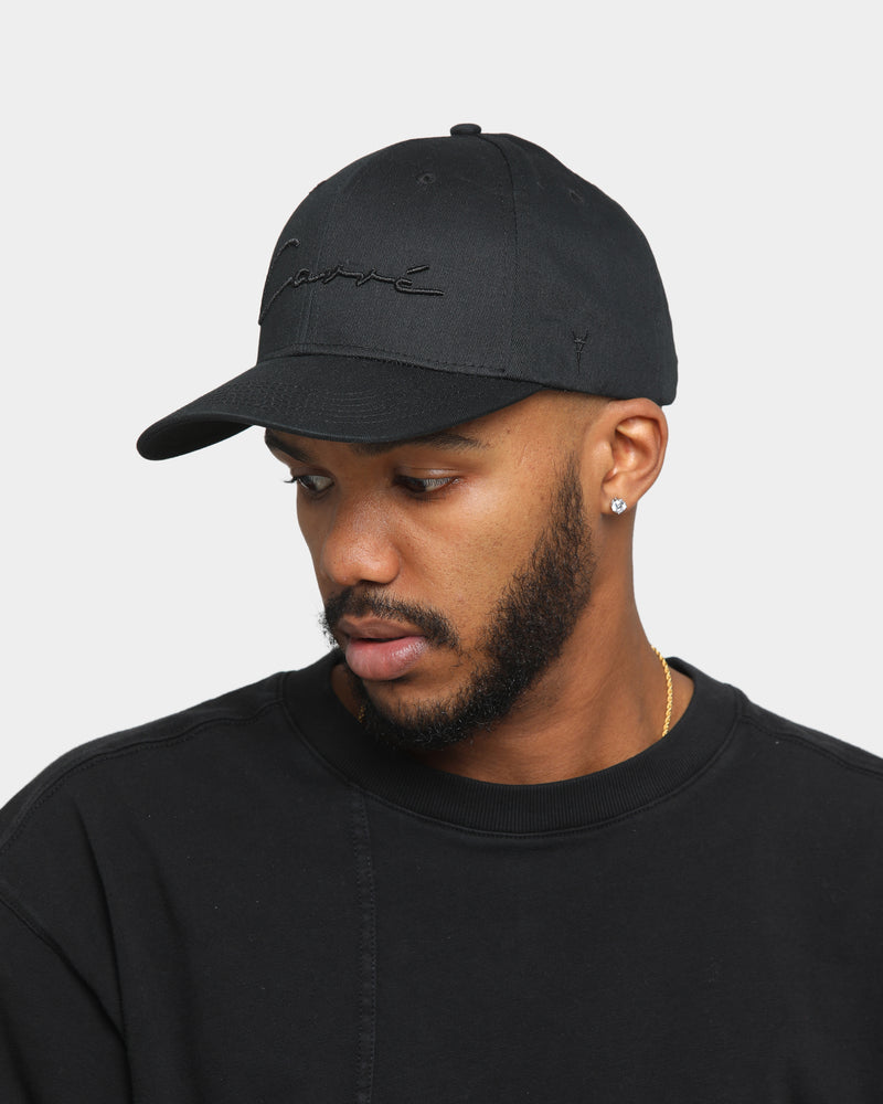 Carré Scripted Grand Snapback Black/Black
