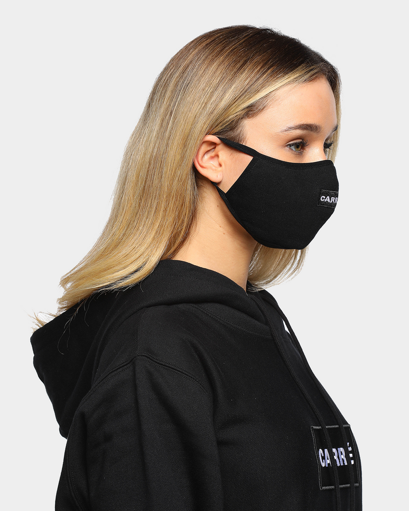 Carré Box Classique Face Mask Black
