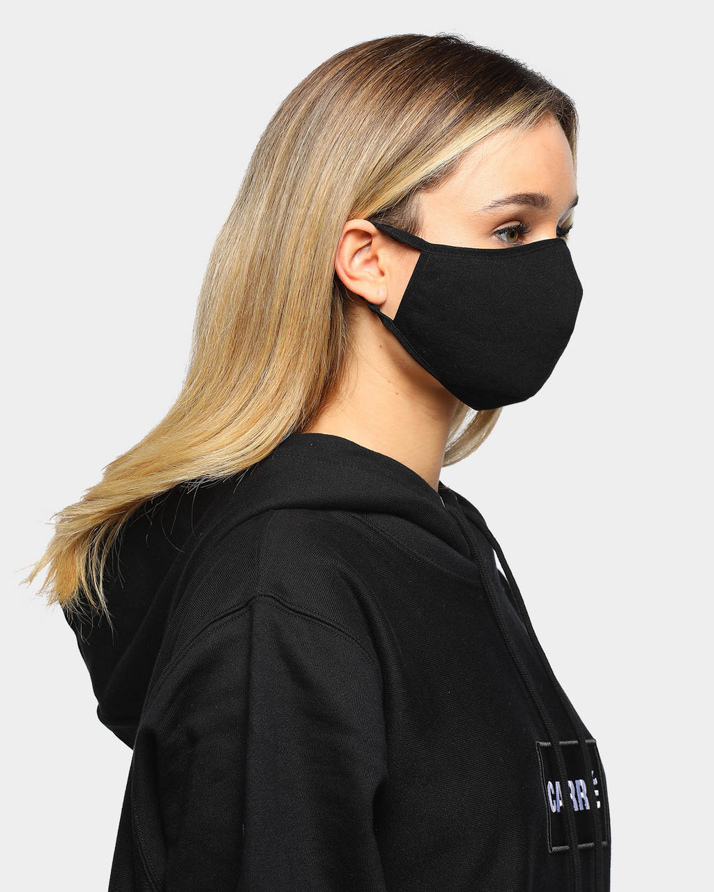 Carré Unisex Staple Face Mask Black