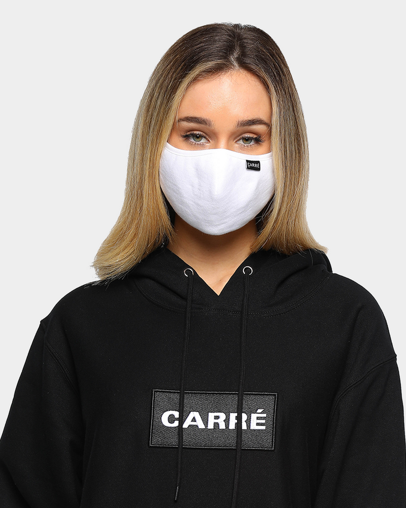 Carré Staple Face Mask White