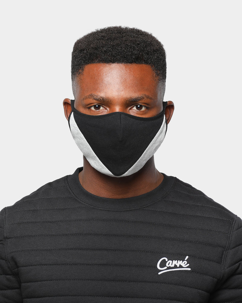 Carré Arrow Face Mask Black/Grey