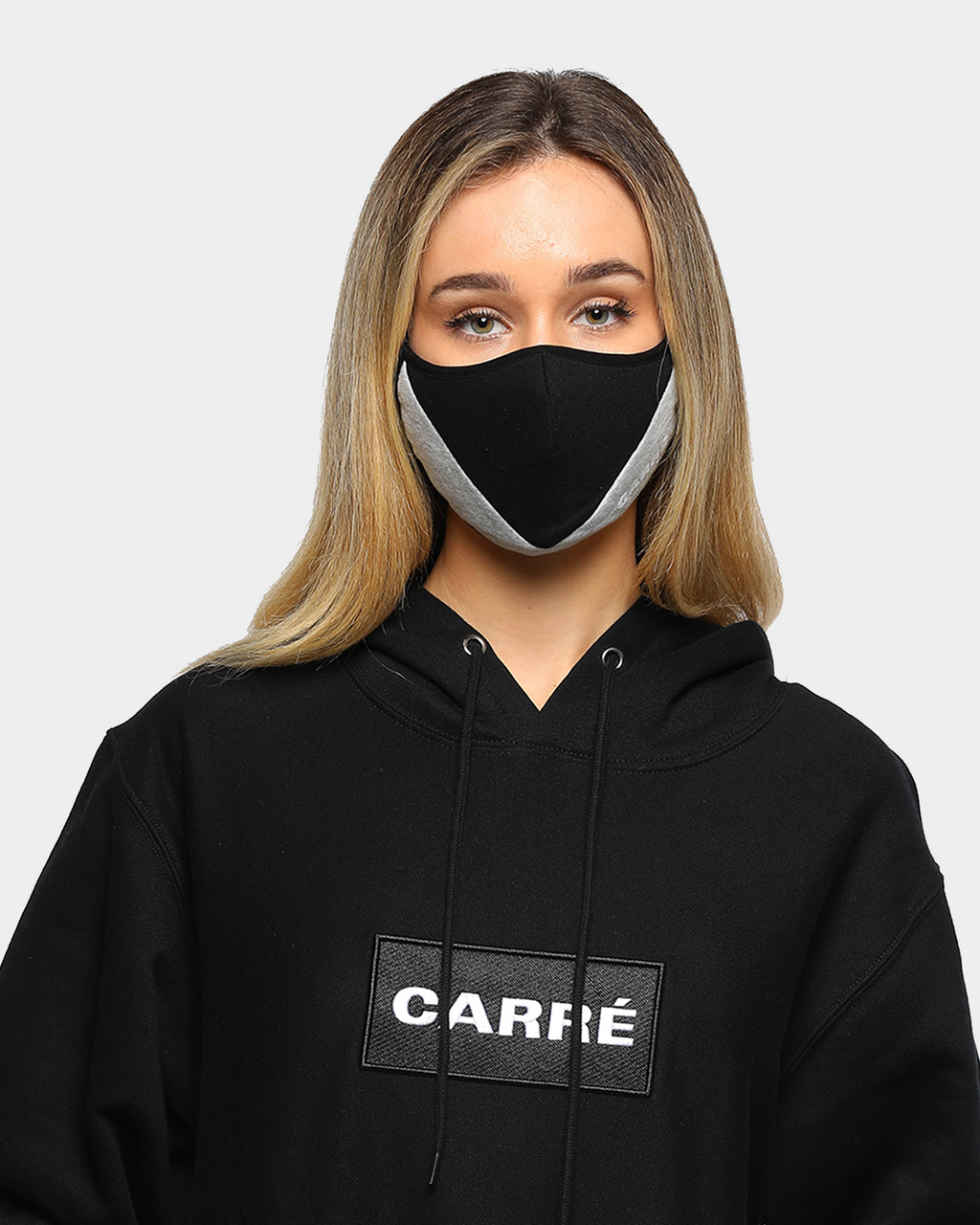Carré Arrow Masque Face Mask Black/Grey