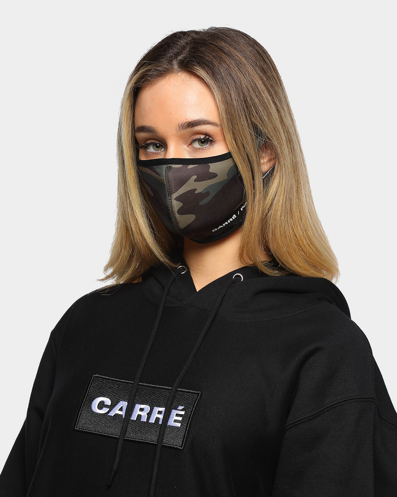 Carré Neoprene Face Mask Camo