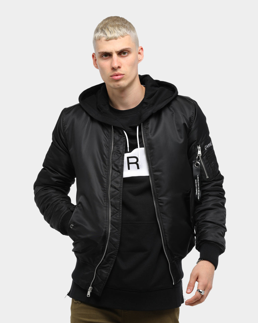 Carré C-47 Bomber 2.0 Jacket Black