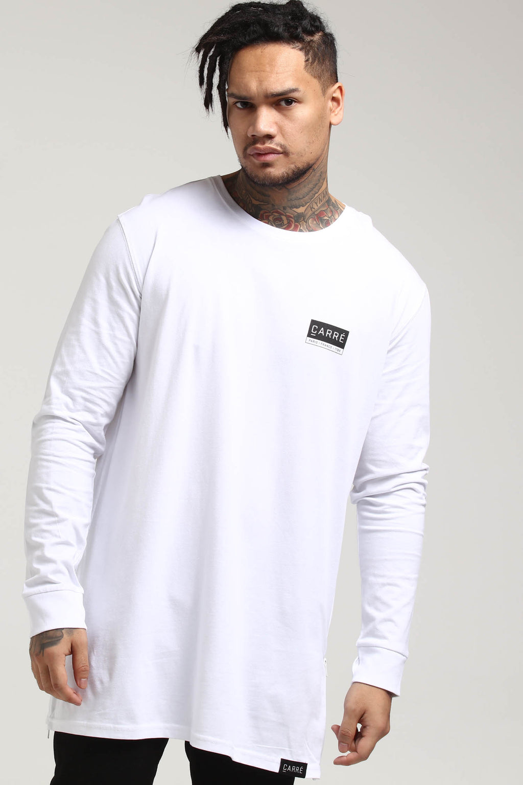 Carré Core Capone 3 Long Sleeve Tee White