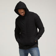 Carré Zip Thru Hoody 2.0 Black